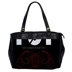 Twenty One Pilots Event Poster Office Handbags by Onesevenart