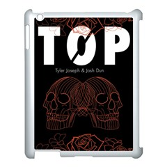 Twenty One Pilots Event Poster Apple iPad 3/4 Case (White) by Onesevenart