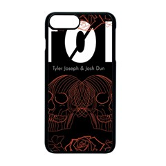 Twenty One Pilots Event Poster Apple Iphone 7 Plus Seamless Case (black) by Onesevenart