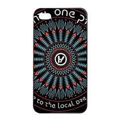 Twenty One Pilots Apple Iphone 4/4s Seamless Case (black) by Onesevenart