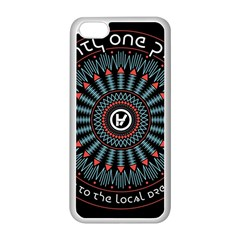 Twenty One Pilots Apple Iphone 5c Seamless Case (white) by Onesevenart