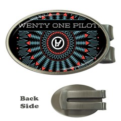 Twenty One Pilots Money Clips (oval)  by Onesevenart