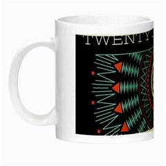 Twenty One Pilots Night Luminous Mugs by Onesevenart