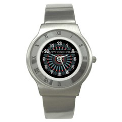 Twenty One Pilots Stainless Steel Watch by Onesevenart