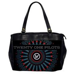 Twenty One Pilots Office Handbags by Onesevenart