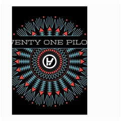Twenty One Pilots Small Garden Flag (two Sides) by Onesevenart