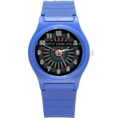 Twenty One Pilots Round Plastic Sport Watch (s) by Onesevenart