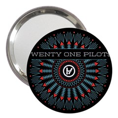 Twenty One Pilots 3  Handbag Mirrors by Onesevenart
