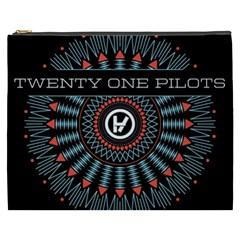 Twenty One Pilots Cosmetic Bag (xxxl)  by Onesevenart