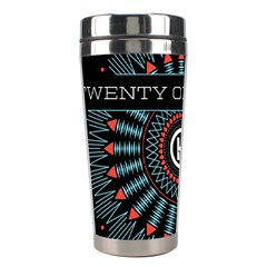 Twenty One Pilots Stainless Steel Travel Tumblers by Onesevenart