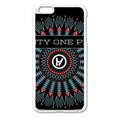 Twenty One Pilots Apple Iphone 6 Plus/6s Plus Enamel White Case by Onesevenart