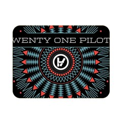Twenty One Pilots Double Sided Flano Blanket (mini)  by Onesevenart