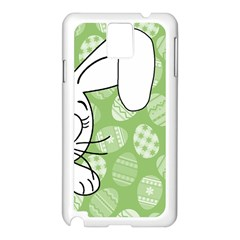 Easter Bunny  Samsung Galaxy Note 3 N9005 Case (white) by Valentinaart
