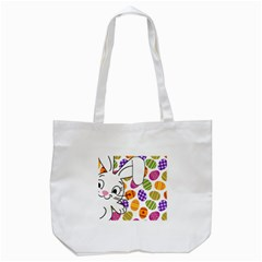 Easter Bunny  Tote Bag (white) by Valentinaart