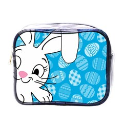 Easter Bunny  Mini Toiletries Bags by Valentinaart