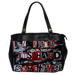 Top Lyrics Twenty One Pilots The Run And Boys Office Handbags by Onesevenart