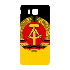 Flag Of East Germany Samsung Galaxy Alpha Hardshell Back Case by abbeyz71
