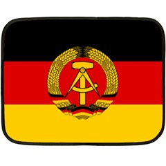 Flag Of East Germany Fleece Blanket (mini) by abbeyz71