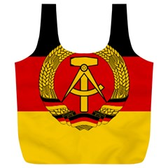 Flag Of East Germany Full Print Recycle Bags (l)  by abbeyz71