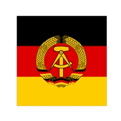 Flag Of East Germany Small Satin Scarf (square) by abbeyz71