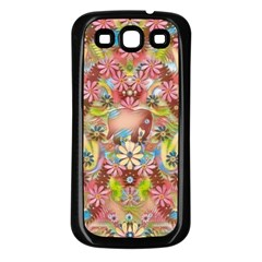 Jungle Life And Paradise Apples Samsung Galaxy S3 Back Case (black) by pepitasart