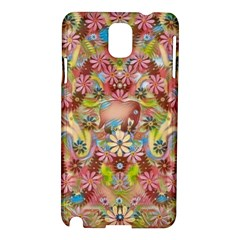 Jungle Life And Paradise Apples Samsung Galaxy Note 3 N9005 Hardshell Case by pepitasart