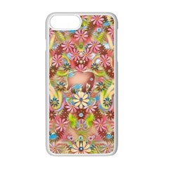 Jungle Life And Paradise Apples Apple Iphone 7 Plus White Seamless Case by pepitasart