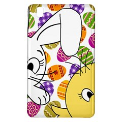 Easter Bunny And Chick  Samsung Galaxy Tab Pro 8 4 Hardshell Case by Valentinaart