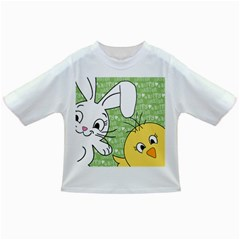Easter Bunny And Chick  Infant/toddler T Shirts