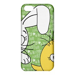 Easter Bunny And Chick  Apple Iphone 5c Hardshell Case by Valentinaart