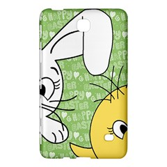 Easter Bunny And Chick  Samsung Galaxy Tab 4 (8 ) Hardshell Case  by Valentinaart