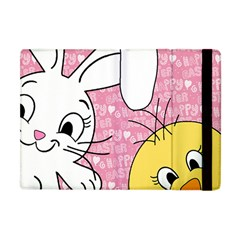 Easter Bunny And Chick  Apple Ipad Mini Flip Case by Valentinaart