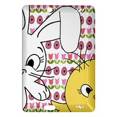 Easter Bunny And Chick  Amazon Kindle Fire Hd (2013) Hardshell Case by Valentinaart