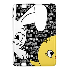 Easter Bunny And Chick  Kindle Fire Hd 8 9  by Valentinaart