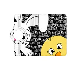 Easter Bunny And Chick  Kindle Fire Hd (2013) Flip 360 Case by Valentinaart
