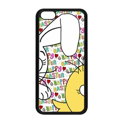 Easter Bunny And Chick  Apple Iphone 5c Seamless Case (black) by Valentinaart