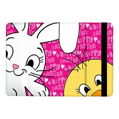 Easter Bunny And Chick  Samsung Galaxy Tab Pro 10 1  Flip Case by Valentinaart