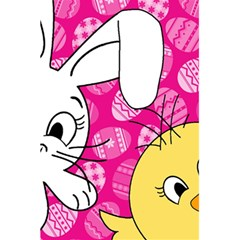 Easter Bunny And Chick  5 5  X 8 5  Notebooks by Valentinaart