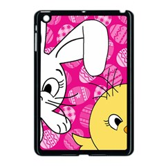 Easter Bunny And Chick  Apple Ipad Mini Case (black) by Valentinaart