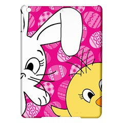 Easter Bunny And Chick  Ipad Air Hardshell Cases by Valentinaart