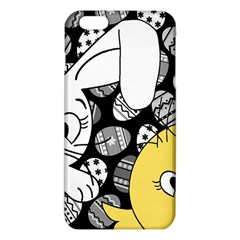 Easter Bunny And Chick  Iphone 6 Plus/6s Plus Tpu Case by Valentinaart