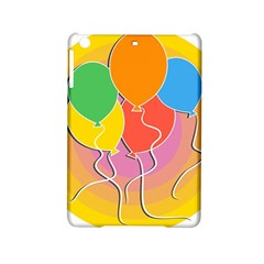 Birthday Party Balloons Colourful Cartoon Illustration Of A Bunch Of Party Balloon Ipad Mini 2 Hardshell Cases