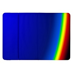 Blue Wallpaper With Rainbow Samsung Galaxy Tab 8 9  P7300 Flip Case