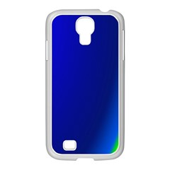 Blue Wallpaper With Rainbow Samsung Galaxy S4 I9500/ I9505 Case (white)
