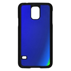Blue Wallpaper With Rainbow Samsung Galaxy S5 Case (black)