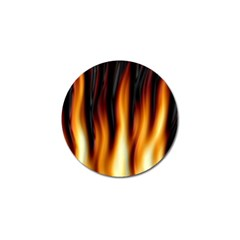 Dark Flame Pattern Golf Ball Marker (4 Pack)