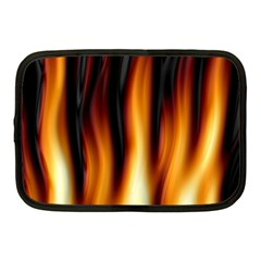 Dark Flame Pattern Netbook Case (medium)