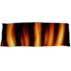 Dark Flame Pattern Body Pillow Case Dakimakura (two Sides) by Nexatart