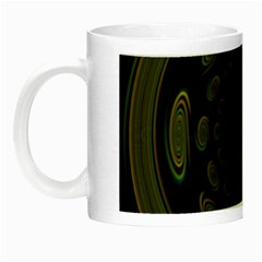 Dark Portal Fractal Esque Background Night Luminous Mugs by Nexatart