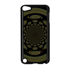 Dark Portal Fractal Esque Background Apple Ipod Touch 5 Case (black)